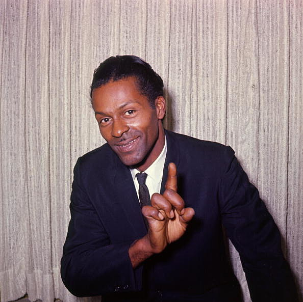 Chuck Berry Portrait Session