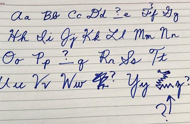 Local Minnesota Schools Bringing Back Cursive Handwriting